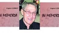 C'est avec consternation que nous apprenons le décès de M. Origène Clémentde Shawinigan. Sa nièce Louise et son neveu Yvon Thiffault, s'unissent à l'association Les Tifault d'Amérique pour transmettre nos […]