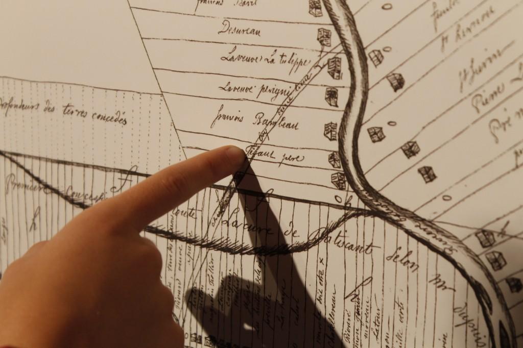 Terre de Jacques Tifault (c) Kyle Scott pour Les Tifault d'Amérique, 2017